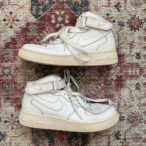 Nike Air Force 1 Mid Top Youth 6.5 Women's 8